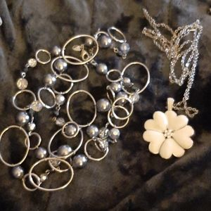 2 LIA SOPHIA NECKLACES IN STORAGE FOR YEARS